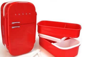 Un frigo retro per il pranzo al sacco