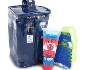 Il set da bagno di Doctor Who