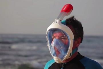 EasyBreath, la maschera per fare snorkeling