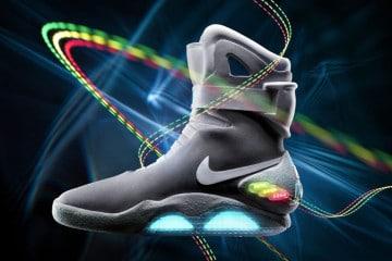 Le Nike auto-allaccianti di Ritorno al Futuro