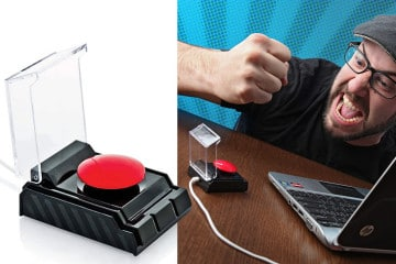 Big Red Button USB
