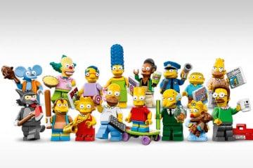 Le minifig LEGO Simpson