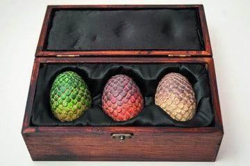 Le uova di drago di Game of Thrones