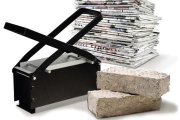 Crea dei mattoni di carta
