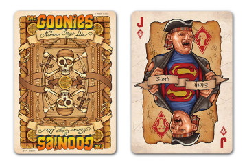 Le carte da gioco dei Goonies