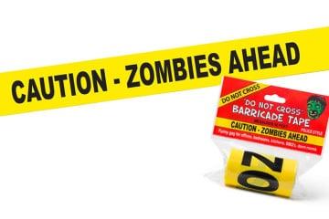 """Il nastro """"Scena del Crimine"""" Zombie"""