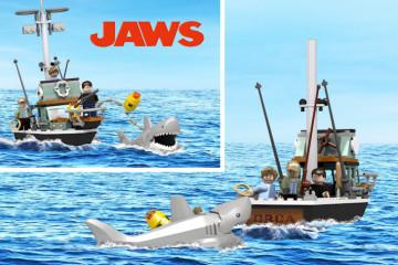 Set LEGO Lo Squalo [Prototipo]