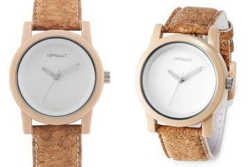 L'eco-orologio di sughero