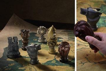 La mappa di tessuto di Westeros
