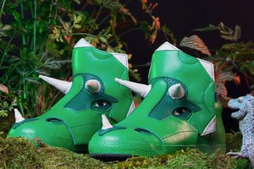Le scarpe triceratopo