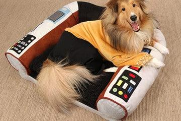 Il cuscino per cani di Star Trek