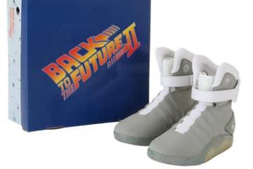 Le scarpe di Ritorno al Futuro