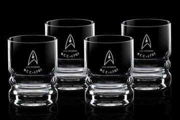I bicchieri dell'Enterprise
