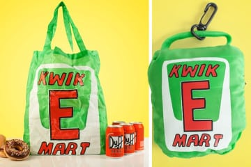 La borsa del Kwik-E-Mart