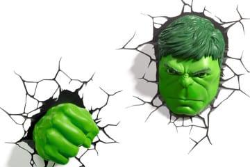 Lampada 3D di Hulk