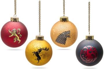 Le palle di Natale di Game of Thrones
