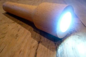 La torcia di legno