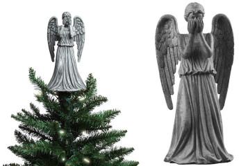 Weeping Angel di Natale