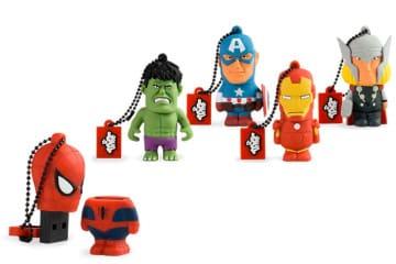 Le chiavette USB della Marvel