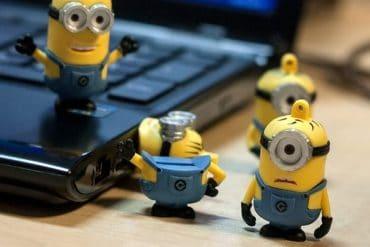 Le nuove chiavette USB Minions