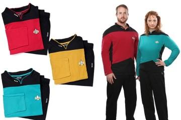 I pigiami di Star Trek TNG