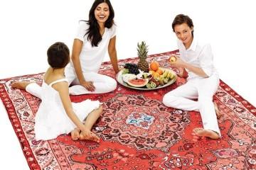 Il telo persiano per picnic