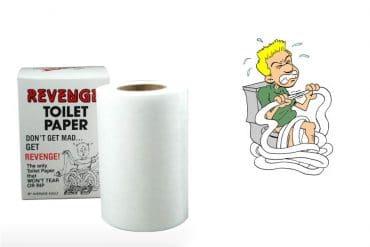 La carta igienica indistruttibile