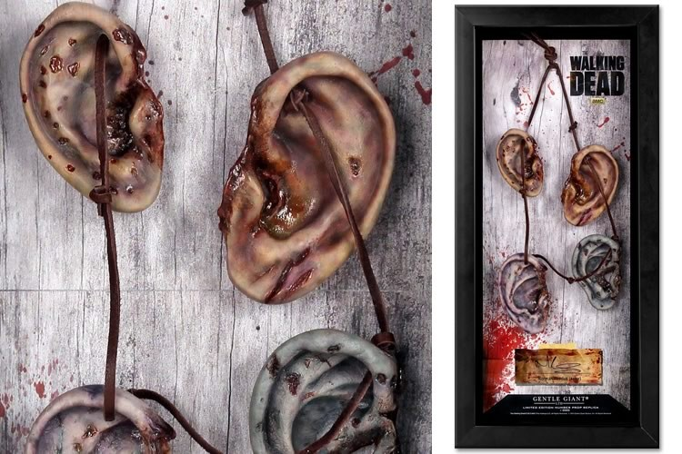 The Walking Dead Daryl orecchie COLLANA per Halloween