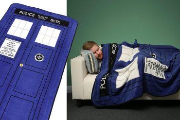 La coperta TARDIS