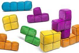 I cuscini ufficiali di Tetris