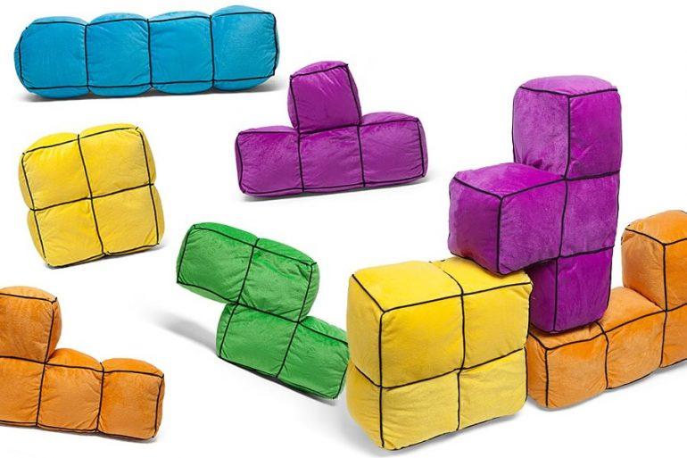 Cuscini Tetris.I Cuscini Ufficiali Di Tetris