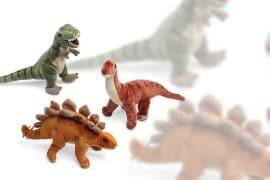 I dinosauri di peluche