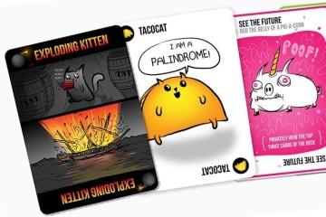Gioco di carte Exploding Kittens