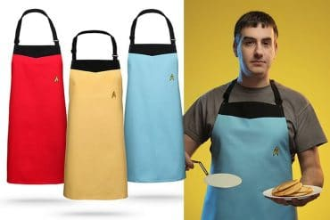 I grembiuli da cucina Star Trek