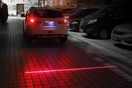 Laser di sicurezza per automobili