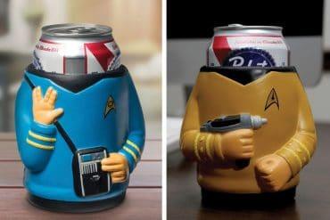 Porta lattine di Star Trek