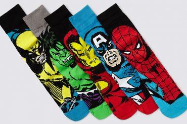 Le calze dei supereroi