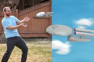 Frisbee USS Enterprise