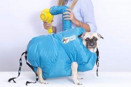 Giubbotto asciuga cani