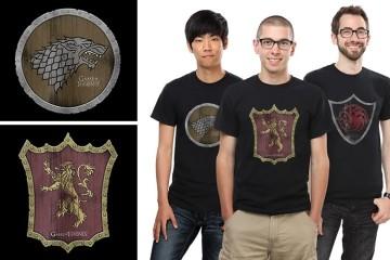 Magliette di Game of Thrones