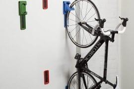 Ganci salvaspazio per bici
