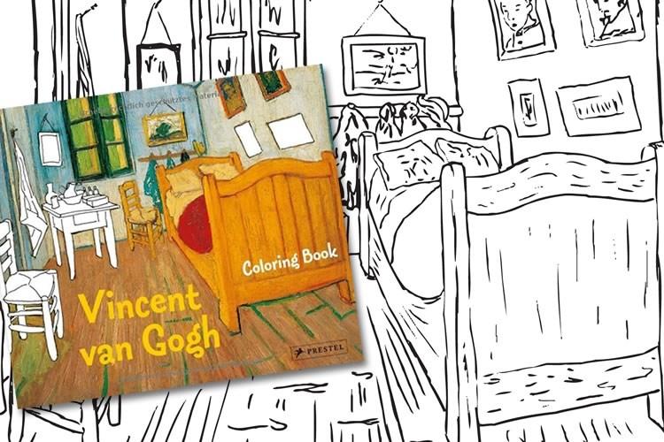Libro Da Colorare Di Van Gogh