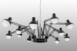 Lampadario multi lampada