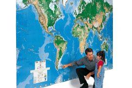 Il planisfero più grande del mondo