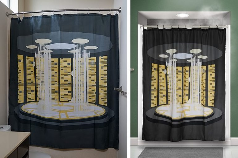 Tende Da Doccia Design : La tenda da doccia con teletrasporto dottorgadget