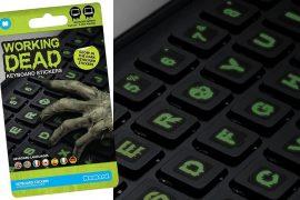 Adesivi per tastiera zombie