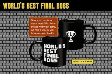 Mug da Final Boss