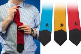 Le cravatte di Star Trek TNG