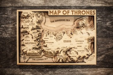 Mappa topografica 3D di GoT
