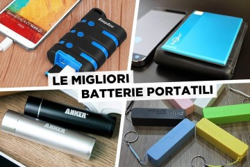 Le migliori Batterie Portatili
